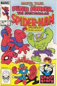 Marvel Tails Starring Peter Porker, the Spectacular Spider-Ham (1983) 1