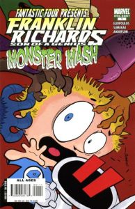 Franklin Richards Monster Mash (2007) 1