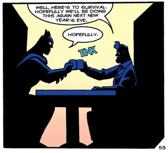 Batman and Gordon