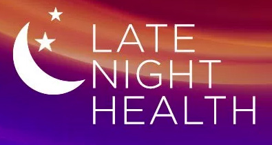Late Night Health logo