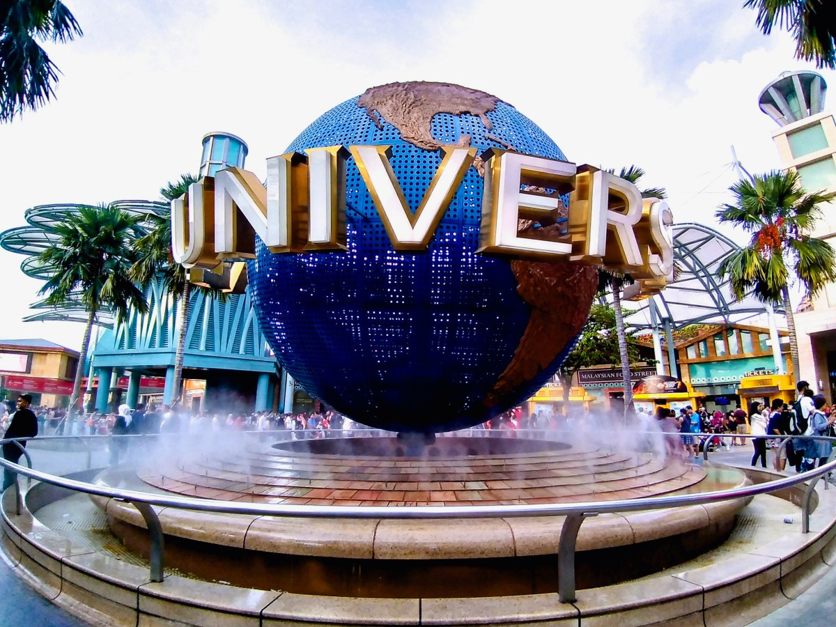 Universal Studios Singapore: Enjoying the Rides when I'm Solo