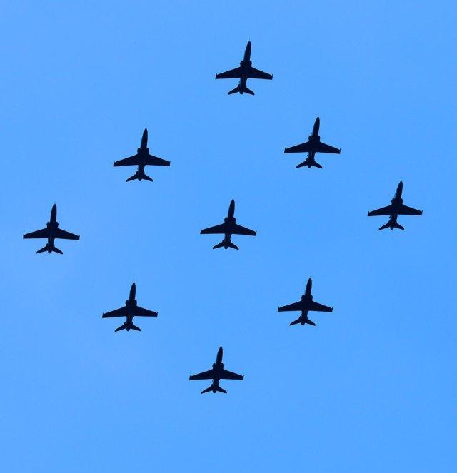 IV(R) Sqn RAF 100 Flypast
