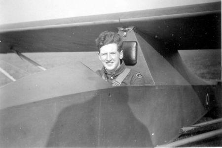 ATC Cadet Duncan Simpson in a Slingsby TX Mk.1 Cadet glider