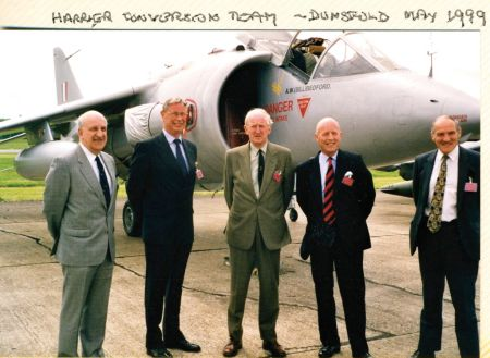 The Harrier Team 30 years on 1999