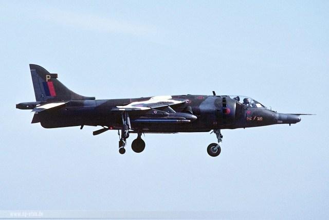 Harrier GR3 'P' 1983