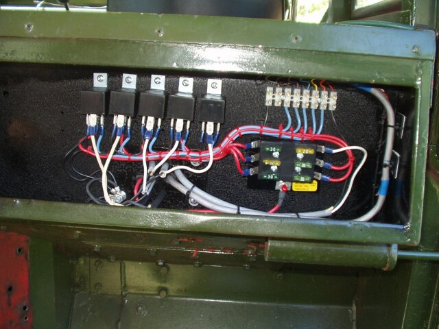 land rover series 2a fuse box wiring diagram