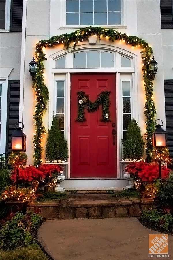 Christmas Decorated Doors