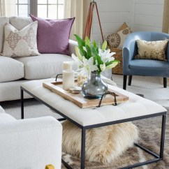 Living Room Blue Decorating Ideas Sofas For Uk Pink Four Generations One Roof Hydrangeas And Snapdragons Coordinated Perfectly With The Soft Pastel Colored Pillows