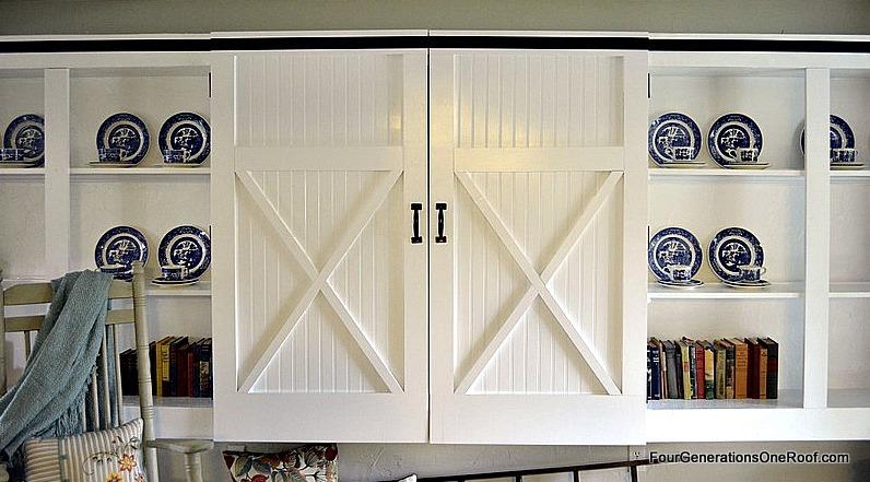 DIY barn closet doors  Four Generations One Roof