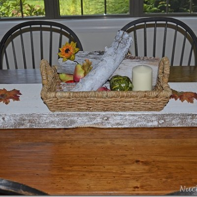 Autumn craft ~ tablescape