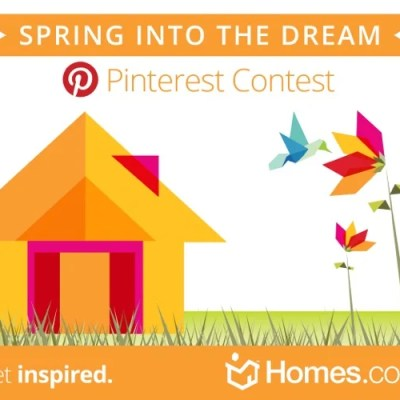 "Homes.com ""Spring into the Dream"" contest"