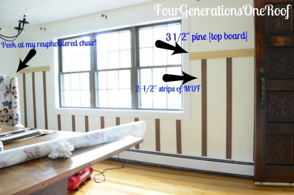 DIY board and batten tutorial