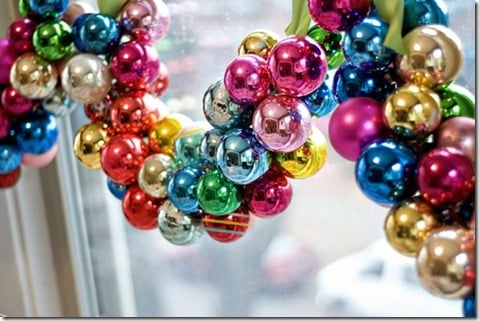diy bulb ornament garland