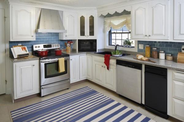 modern cottage white kitchen reveal
