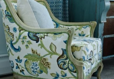Reupholstering A Vintage Chair