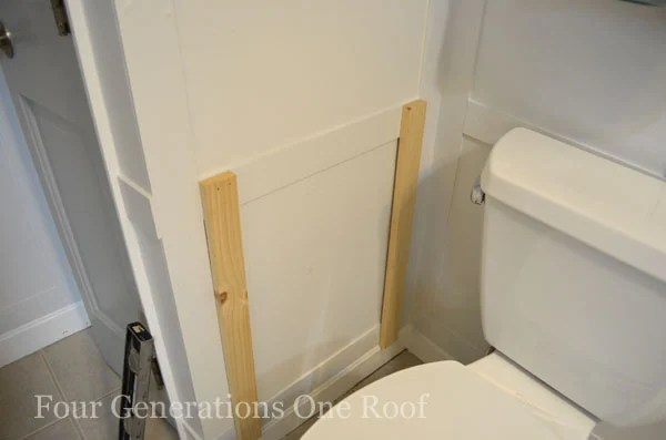 DIY Bathroom Magazine Rack {tutorial}_DSC0013
