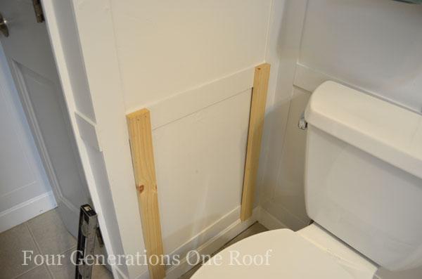 DIY Bathroom Magazine Rack {tutorial}_DSC0013