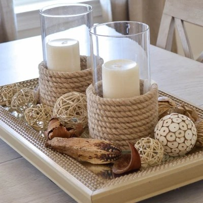 DIY Candle Holders {tutorial}