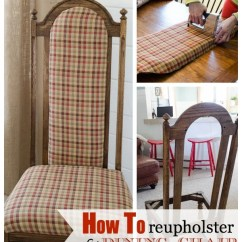 Reupholster Dining Chair Chase Lounge How To A Four Generations One Roof