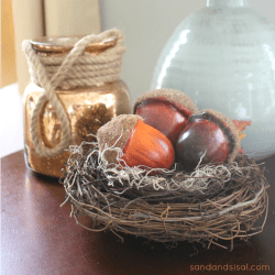 fall decorating mini room makeover with kirklands