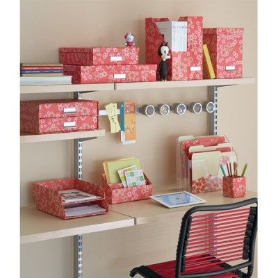 Decorative organization boxes + baskets