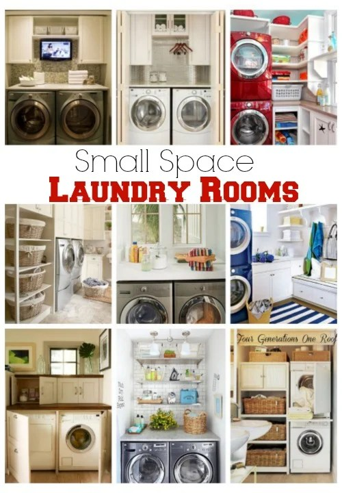small space laundry room ideas