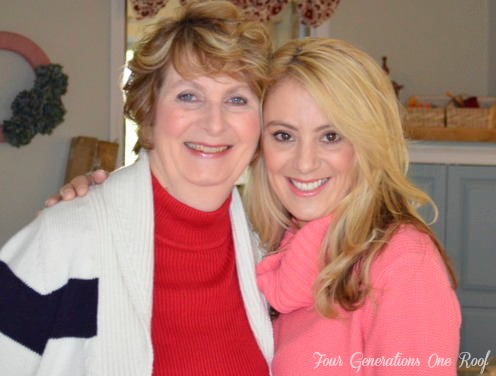 Mom and Daughter a lazy girl tips on increasing energy and weight loss