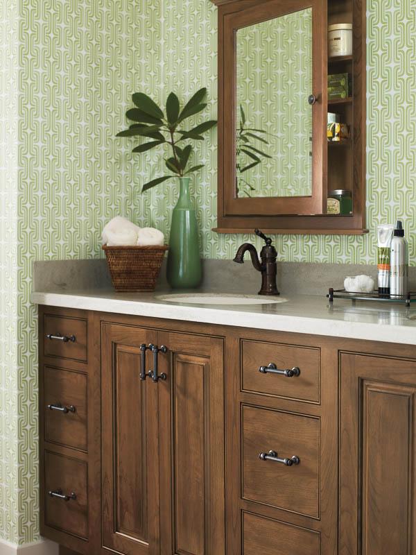Omega Cabinetry's new bathroom vanity line