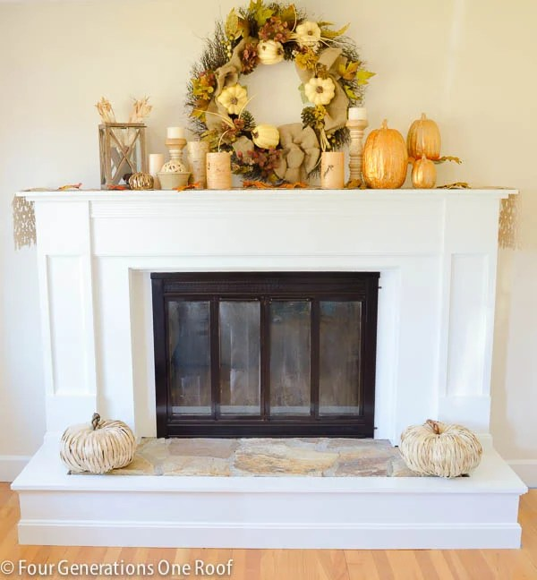 How To Update A Fireplace Surround {brass}