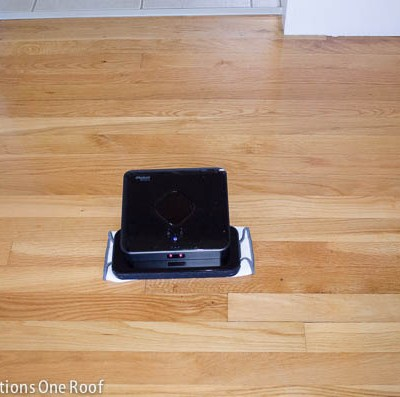 Seriously, an iRobot automatically cleans our floors…….LOVE this thing!