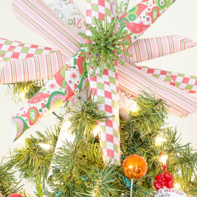 DIY whimsical Christmas Star {under $5}