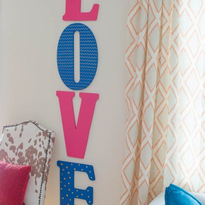 Valentine DIY Wall Art {Love Letters}