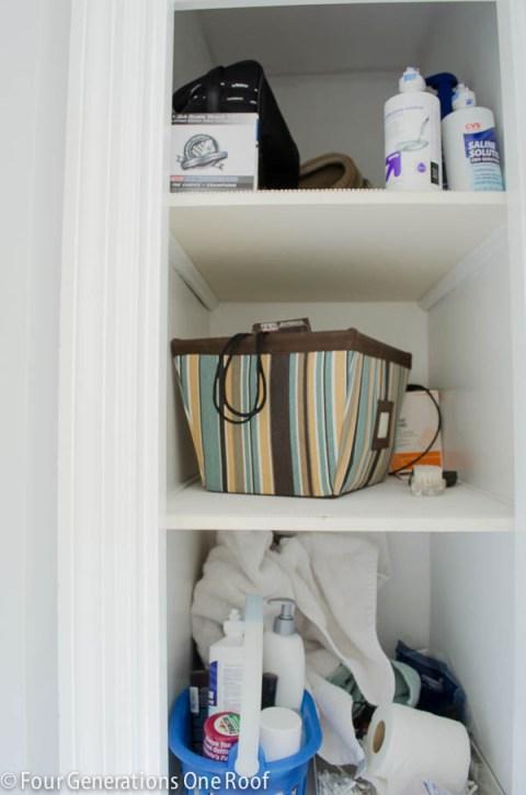 Small Closet Organization Project