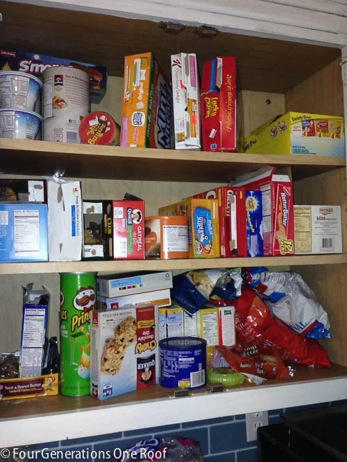 organized kitchen pantry reveal