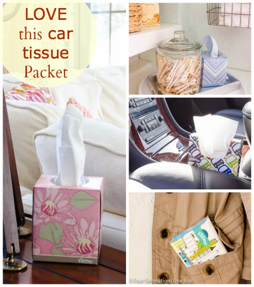 DIY Decorating with Kleenex {you have to see this one for my car!} #kleenexstyle #sp