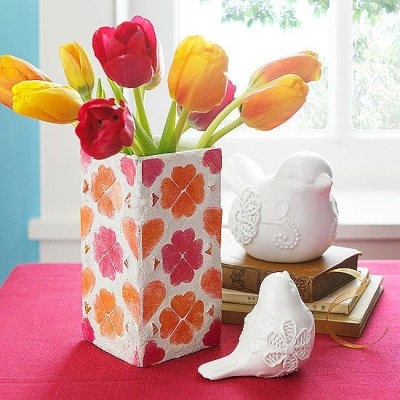Easy Spring Crafts for the front porch