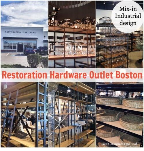 restoration hardware outlet