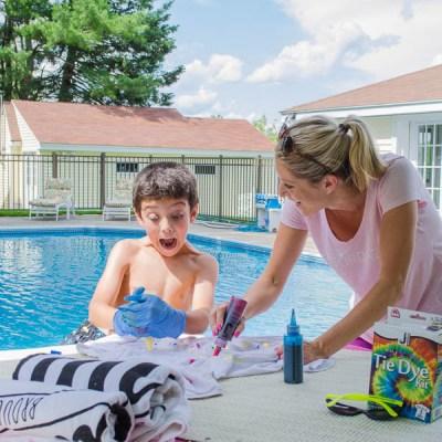 Summer Pool Fun with HTH Pool