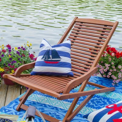 Summer picnic on the dock + $100 Gift Card Giveaway