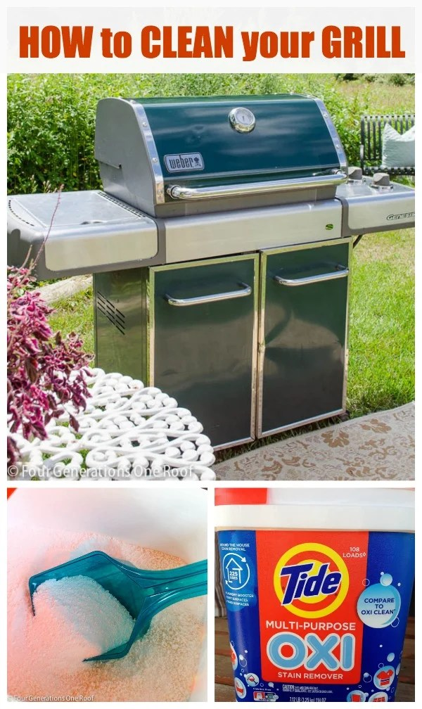 HOW TO CLEAN STAINLESS STEEL GRILL Tide OXI