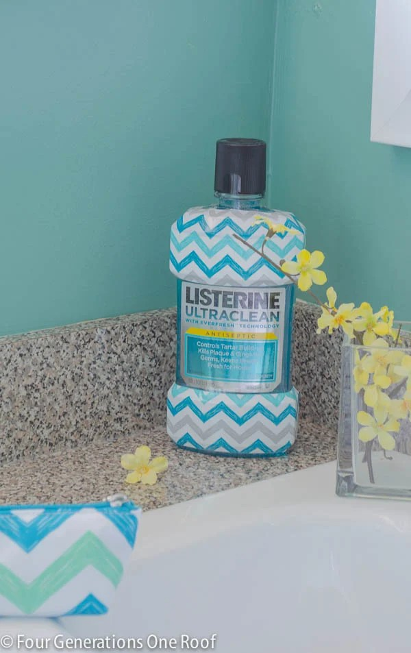 mini bathroom makeover listerine-2