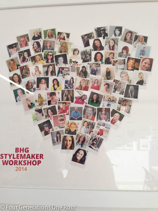 BHG Style Maker Workshop NYC 2014