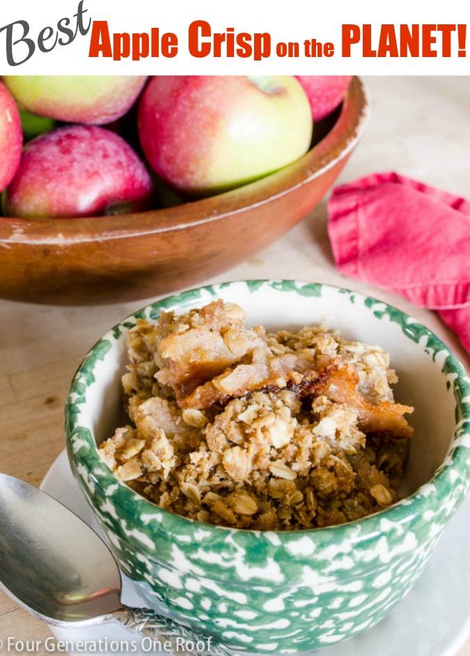 best apple crisp / Water Farm Apple Crisp