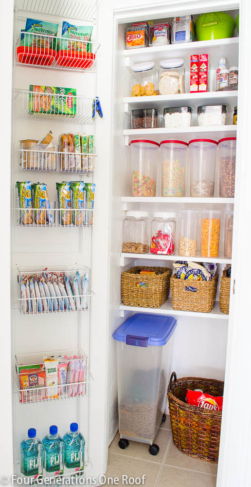 Try This 8 Ideas Pantry Organization Tips Four Generations One Roof