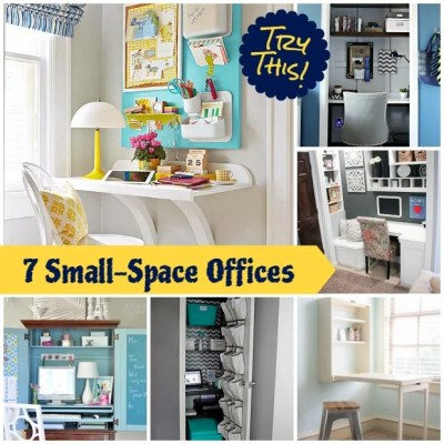 TRY THIS:  Make a Small Space Office
