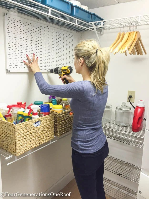 Diy Basement Laundry Room Makeover Before After Four Generations One Roof