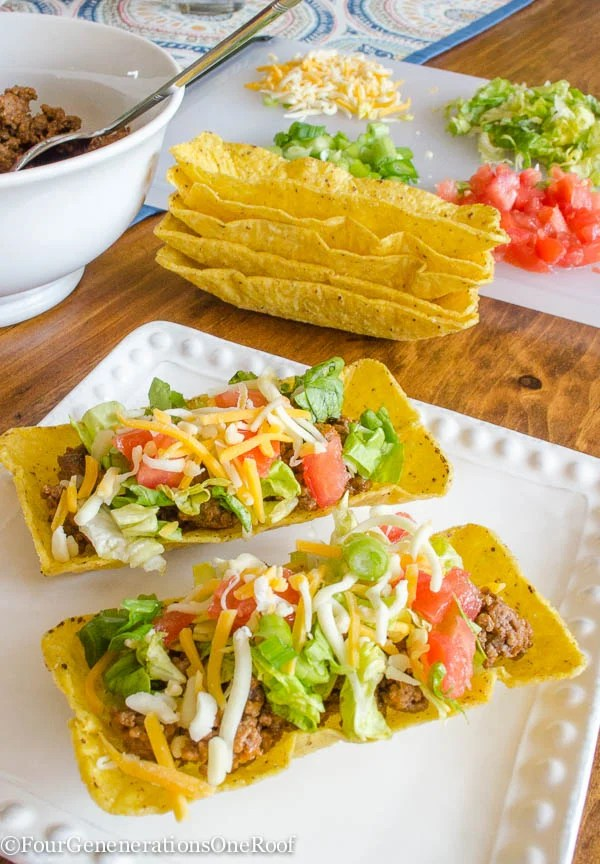 How to make tacos / flat bottom taco shells