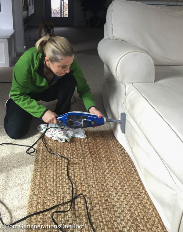 Spring Cleaning tips + SteamMachine Plus Giveaway -5