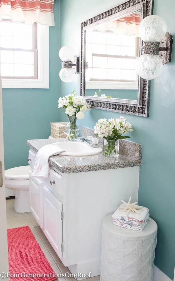 Blue-Powder-Room-Makeover