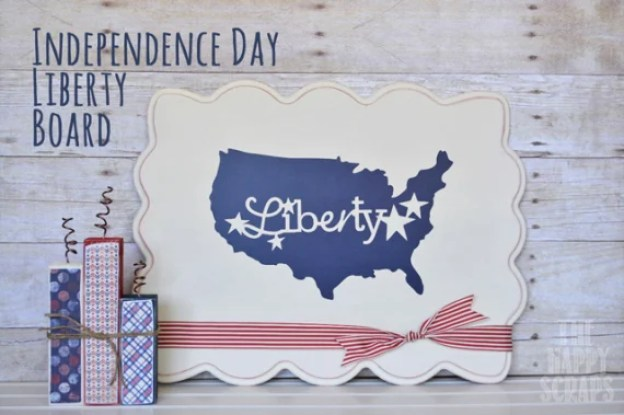 Independence-Day-Board fourth of july party ideas